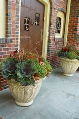 fall planters | Fall Decorating | Pinterest