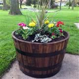 Barrel Planters - Gardener Gardens
