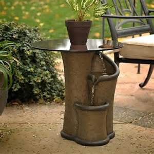 Garden Fountains Ideas, Zen Fountain Contemporary Garden Furniture ...