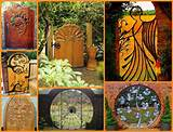 unique garden gates photo gallery diy cozy home