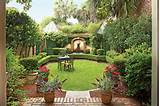 an elegant georgia courtyard garden southern living