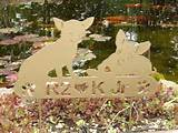 Chihuahua PET MEMORIAL Garden Stake Yard Ornament Lawn Dog