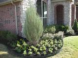 front yard corner planting from harbor landscape in broken arrow ok