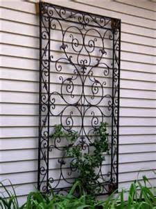 Outdoor Wall Decorations on Pinterest | Outdoor Wall Art, Wrought Iron ...