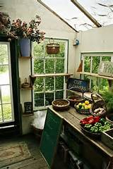 Great garden shed interior | Greenhouses and Outdoor Spaces | Pintere ...