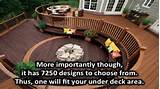 Under deck landscaping ideas - YouTube