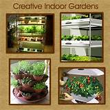 indoor vegetable gardening | Small Space Garden Ideas | Pinterest