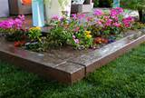 raised flower bed landscaping idea download how build raised bed