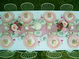 garden tea party hire pack 12 x children