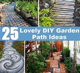 25 Lovely DIY Garden Path Ideas | DIY Cozy Home World - Home ...