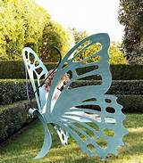 Butterfly Garden Decorations for Pinterest