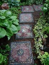 Brainstorm: Mosaic and Recycled Garden Ideas