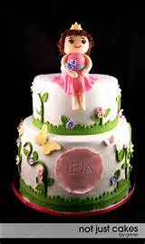 Princess Garden Cake | Cake Designs to Make Someday | Pinterest