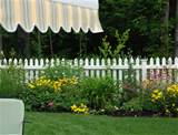 the fence. Does the White Picket Fence not scream cottage garden ...