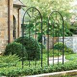 Decoration Iron Trellis Garden - 61 | Chicago Agent