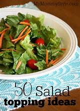50 salad topping ideas - My Mommy Style