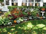 Photo Gallery of the Several Amazing Fall Landscaping Ideas to Go