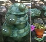 creative ideas diy terracotta turtle garden decors creative