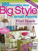 ideas big style for small rooms 2012 free pdf magazines