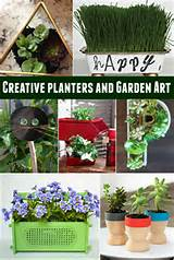 Creative Planters and Garden Art Ideas - Princess Pinky Girl