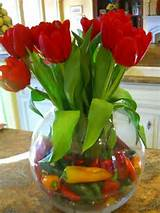 Cute idea - using peppers in the base!! | For the Home | Pinterest