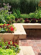 garden bench raised beds
