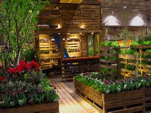 Shipping Pallet Garden Wows Visitors at the Canada Blooms Garden ...