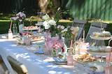 The Vintage Garden Tea Party - Asian Wedding Ideas {Summer Setting ...