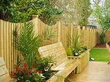 Garden Fence Design Ideas wooden-high-garden-fence-design-ideas ...