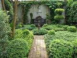 For another view of his garden house, click HERE .