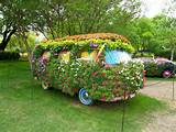 No space to garden ? here are some creative ideas for an eyesore ...