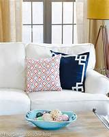 ... coordinated throw blanket to add pops of fun bright color to the room