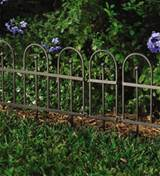 ... Garden or Flower Bed Iron Fence Edging | Decorative Garden Accents