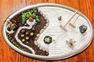 brown stone mini zen garden diy garden zen japanese pinterest