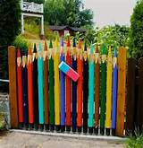 garden gate idea creative rare ideas pinterest
