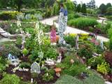 ... gardens was this fairy garden. Apparently, the Door County fairies