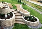 Steinmauer im Garten – Hangbefestigung, die Sicht- & Lärmschutz ...
