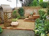 decoraci n de jardines pergola madera maceta grande ideas