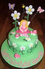 piece of cake fairy garden cake
