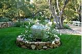 fountain gardening outdoor decorating ideas pinterest