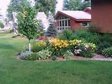 perennial garden outdoors landscape pinterest