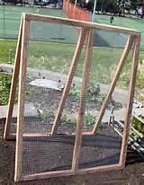 frame trellis two cedar 2 2 frames hooked together with hinges