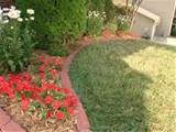 dreams flower beds gardens delight beds edging bricks border