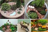 mini gardens | Cute garden ideas! | Pinterest