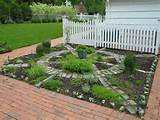 Back yard patio, deck and gardens - Traditional - Landscape ...