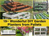 Wonderful DIY Pallet Garden Planter Ideas | DIY Cozy Home