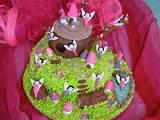 fairy garden birthday cake flickr photo sharing