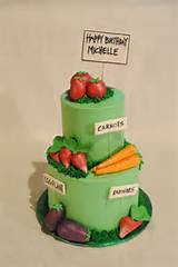 Vegetable Garden Cake | decorated cakes | Pinterest