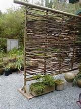 wattle fencing a cheap diy material for modern outdoor spaces