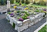 rock garden ideas gardening raised planting beds pinterest